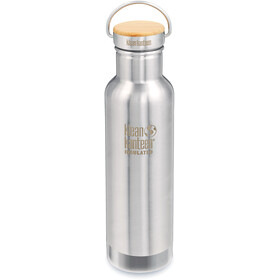 Klean Kanteen Reflect Vacuum Insulated Butelka Korek bambusowy 592ml, mirrored stainless